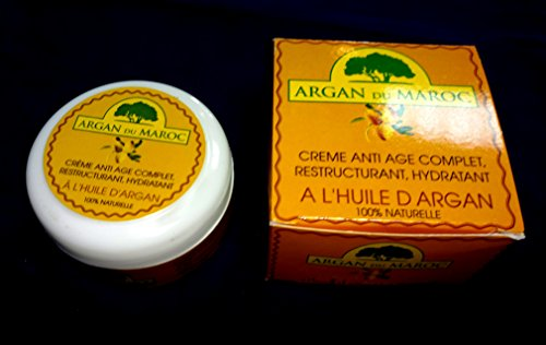 Argan Du Maroc Anti Ageing Argan Oil Cream For All Skin Types 100 ml by Green & Red Morocco