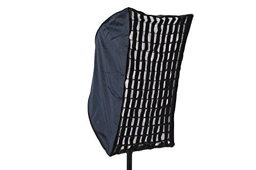 Flash-strobe Light-fotografie (Phot-R Professionelle Fotografie 60x90cm Rechteckige Folding Umbrella-Streifen Softbox fuer Foto-Studio-Strobe Beleuchtung Flash + Wabe)
