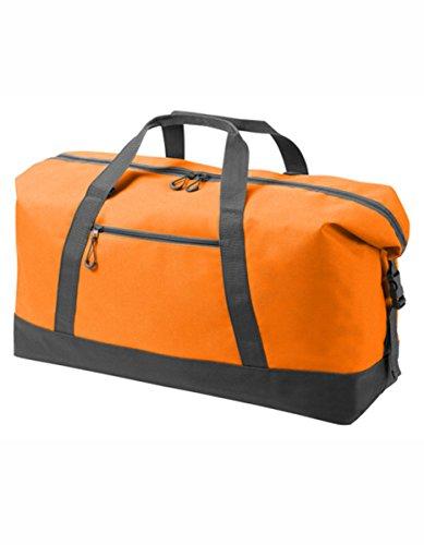 HALFAR® HF8804 Sport / Travel Bag Wing Freizeittaschen Sport- & Reisetaschen Tasche, Farbe:ORANGE orange
