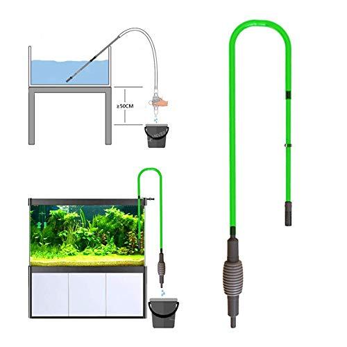 hook.s Aquarium-Kies-Reiniger-Aquarium, automatischer Wasser-Wechsler-Vakuumänderungs-Wassertank, Siphon-Sauger-Reiniger-Wasser-Ändern