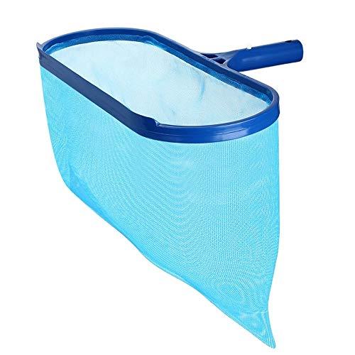 DIYARTS Professionelle Poolabschäumer Blau Kunststoff Rechen Mesh Schwere Blatt Tiefenschäumer Net Schwimmbad Aquarium Spas Reinigung Zubehör Werkzeug (Fish Tank Reinigungs-net)