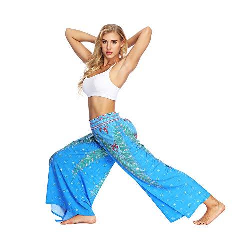 TianWlio Leggings Frauen Fitness Yoga Sport Winter Lässige Sommer Lose Yoga Hosen Baggy Boho Aladdin Overall Pluderhosen