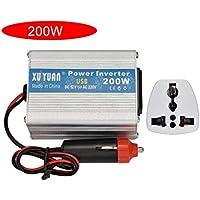 200W profesional de potencia máxima del inversor de CC a CA Inicio Alquiler convertidor de energía portátil para los electrodomésticos Plug and Play