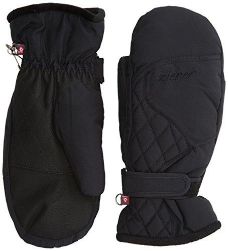 Ziener Damen KEYSARA PR Mitten Lady Glove Handschuh, Black, 7,5