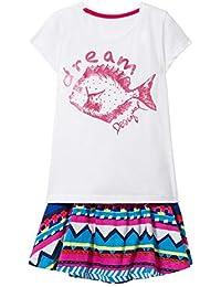 6279defb5 Desigual Girl Knit T-Shirt Short Sleeve (Pack pomo)