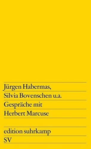 Gespräche mit Herbert Marcuse (edition suhrkamp)