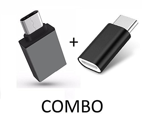A2Z Shop Type C Connector Plus USB OTG Combo Compatible with Samsung Galaxy A8