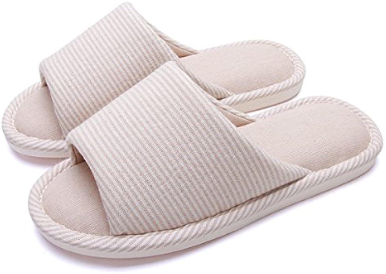 Primavera Y Otoño Nuevo Hogar Pisos Zapatillas Amantes Inicio Suave Interior Zapatillas Casero Grueso Zapatillas