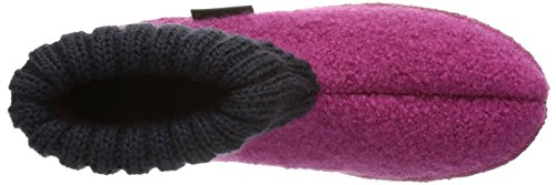 Haflinger 631047 - Pantofola per bambini Rosa (Inka 30)