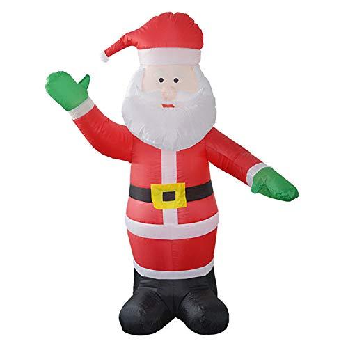 LOVEPET Santa Claus-aufblasbare Vorbildliche Weihnachtsgroße Dekorative Stützen-Weihnachtsgroßvater-aufblasbare Bögen Hof-Mall-Hotel-Tür-Dekoration (Herr Und Frau Claus Outfits)