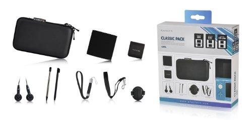 Unbekannt PLAYFECT Classic Pack Zubehörset Accessoires für Nintendo DS/DSi/DS Lite/3DS schwarz