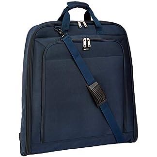 AmazonBasics – Portatrajes de calidad prémium, Azul marino – 1 m