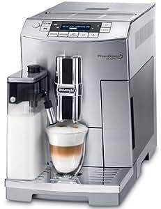 DeLonghi One Touch ECAM 26.455.M Kaffee-Vollautomat PrimaDonna S De Luxe (1.8 l, integriertes Milchsystem , Gehäuse aus Edelstahl) Edelstahl