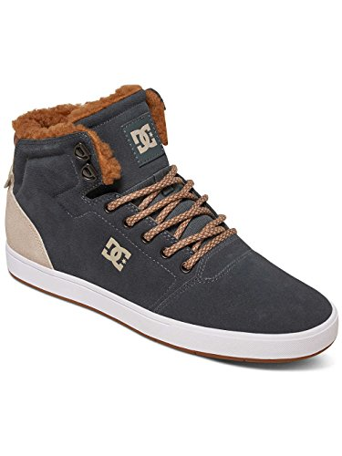 DC Universe Herren Crisis Wnt High-Top Charcoal