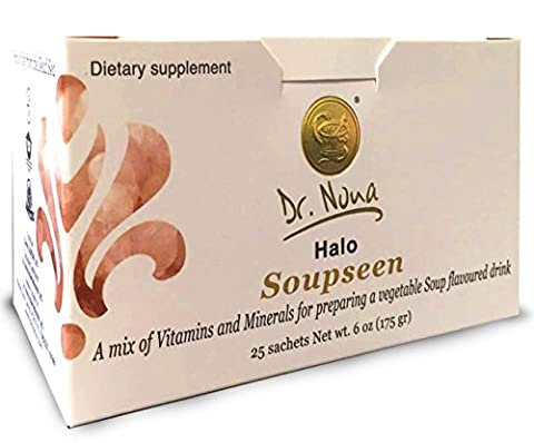 Dr. Nona Halo Soupseen Dead Sea Minerals Dietary Supplements Health Product 25 Sachets 175gr