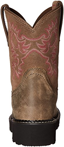 Brown Russet Saddle Fatbaby Wmns Ariat Saddle Ariat Westernstiefel Rebel Fatbaby Wmns vwdqnS8S