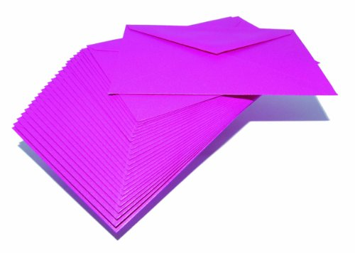 Paperstate Centura Pearl - Sobres, tamaño C6, 100 g/m², 25 unidades, color rosa