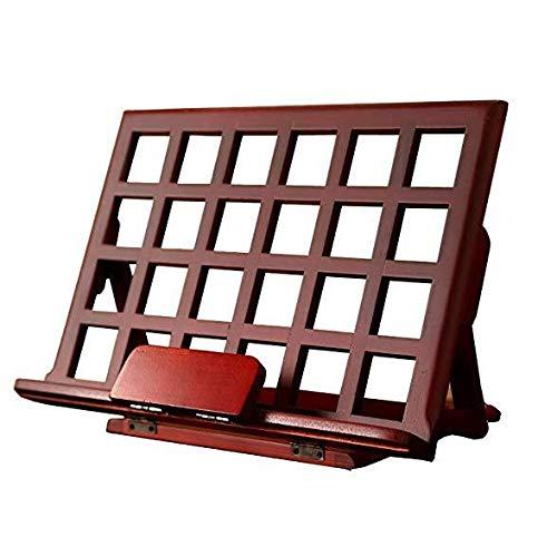 Mindruer Holz Buchhalter Vintage Leseständer Bücherständer Tablet Halter Rezept Klavierbuch Ständer - Rezept-halter Für Ipad