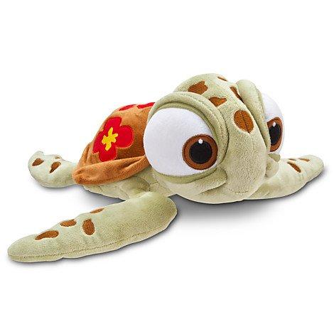 Disney Findet Nemo Crush (Squirt) Plüschtier Meeresschildkröte, L30cm (Aus Nemo Squirt Findet)