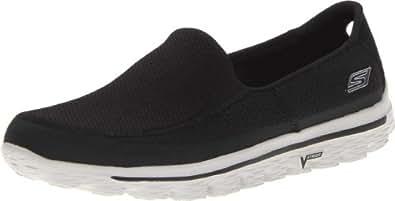 Skechers Go Walk 2, Men's Sneakers, Black/Grey, 5.5 UK (6.5 US) (39 EU)