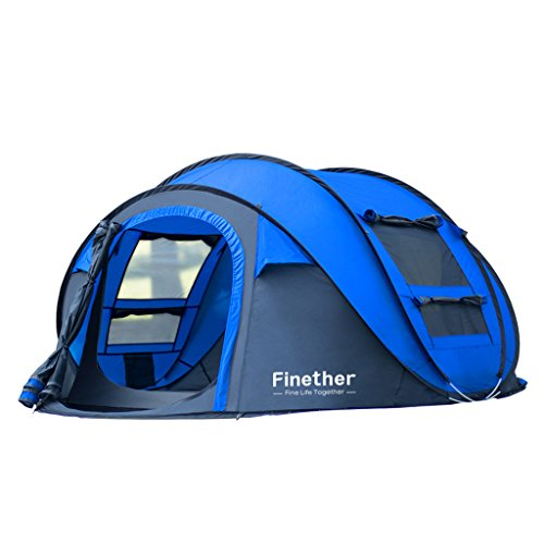 Finether Zelt Pop Up Camping Zelt Wurfzelt Kuppelzelt T… | 00712073199153