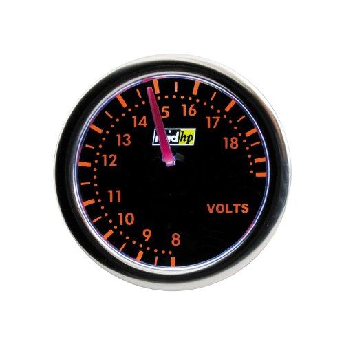 Raid HP 660255 Voltmeter, Zusatzinstrument Night Flight Rot