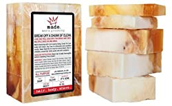 The Ultimate Mens Soap, Shampoo & Shaving Cream - Made Men's Grooming - All-In-One Break Away Bar for Hair, Body & Shave 16 oz. With Essential Oils & Citrus, Mint & Sandalwood Scent