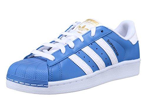 Sneaker Adidas Adidas Superstar Schuhe ray blue-running white-runnning white - 44