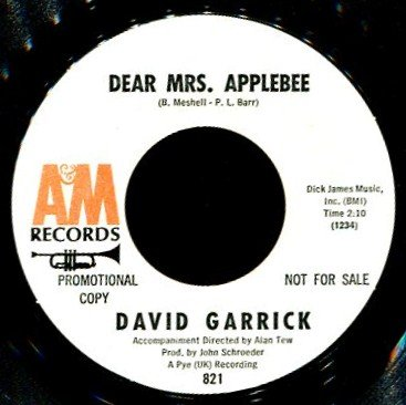 vinyl-7-dear-mrs-applebee-you-re-what-im-livin-for