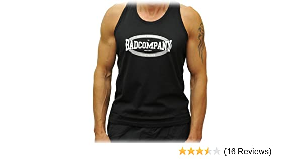 Bad Company Boxing Muscle Shirt schwarz//Muscle Tank Top