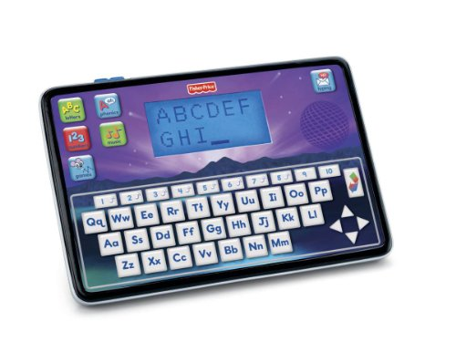 Mattel Fisher-Price W8780 - Smart Tablet, zweisprachiger Lerncomputer