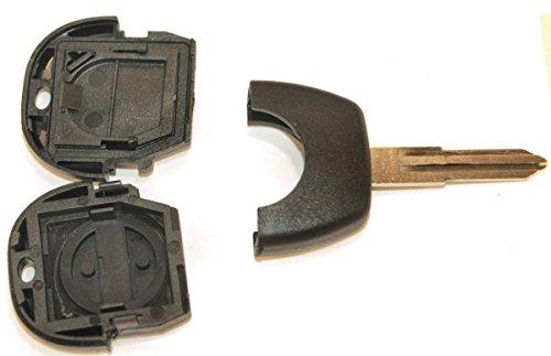 KLEMAX Coque de clé Adaptable pour Nissan Lame A crantée référence: NIS25