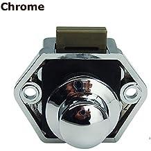 encell Set von 5Push Button Catch Schrankknopf Lock-Verriegelung für RV Camper Motor Home Caravan
