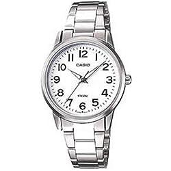 Casio Damen-Armbanduhr Analog Edelstahl LTP-1303D-7BVEF