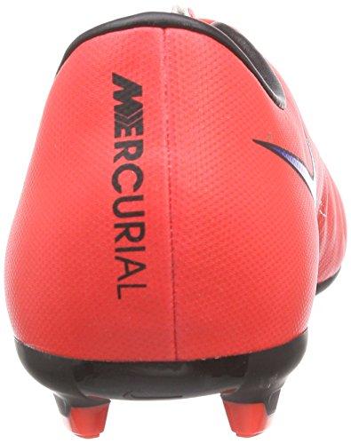 Nike Jr Mercurial Victory V Fg, Scarpe da Calcio Bambino Nero (Red/Black)