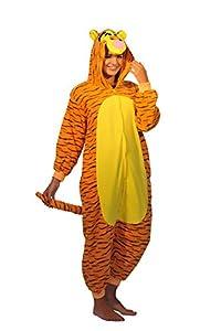 Pijama de una pieza, con diseño de tigre, Everglamour