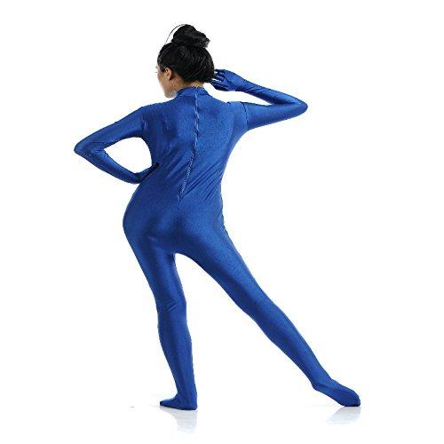 Gazechimp Spandex Body Suit Ganzkörperanzug körperanzug Anzug Bodysuit Kostüm - Blau, (Blau Bodysuit Kostüm)