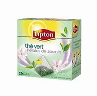 Lipton Thé Vert Jasmin 20 Sachets 34 g