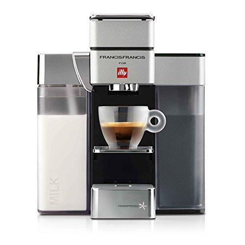 FrancisFrancis. Y5Milk Espresso + Coffee (S + C) ipere mediaespresso, color blanco