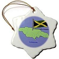 d607ebb3fa5 Christmas Gift Cadeau de Noël Drapeau et Carte du Commonwealth de la Jamaïque  avec agitant Drapeau