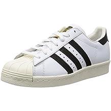 adidas Superstar 80s (Gum Outsole) G61070, Zapatillas de Deporte para Hombre