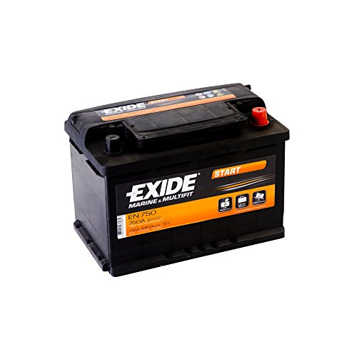 EXIDE - BATERIA PARA COCHE EN750 12V 74AH 680A