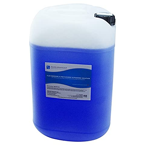 Ultrasonic Cleaning Fluid PCB Solder Flux Remover 25L Concentrate Solution
