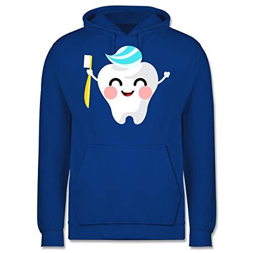 Shirtracer Karneval & Fasching - Zahnfee mit Zahnpasta - XL - Royalblau - JH001 - Herren Hoodie (Zahnpasta Für Erwachsene Kostüm)