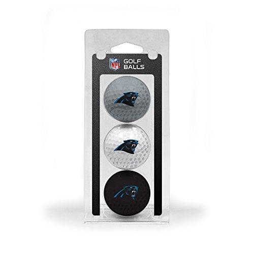 Team Golf NFL 3Golfbälle, 3er-Pack, 30405, Carolina Panthers, Einheitsgröße