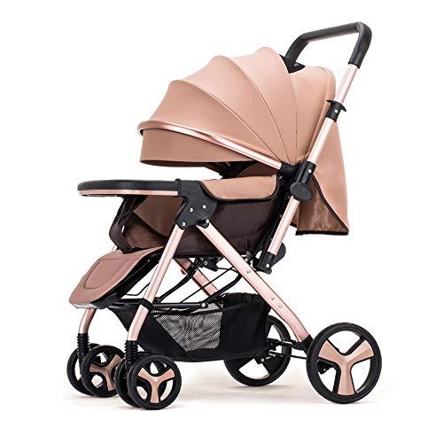Kinderwagen, ultrakompakter und Leichter Kinderwagen von Geburt an, leicht zusammenlegbar, 0 Monate bis 3,5 Jahre, mit Liegeposition und sicherem Fünf-Punkt-Gurt, für Babys