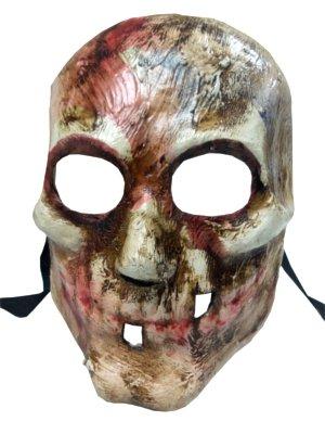 Scary Handarbeit BLODDY Full Face Skull Masken venezianischen Horror Masquerade Masken