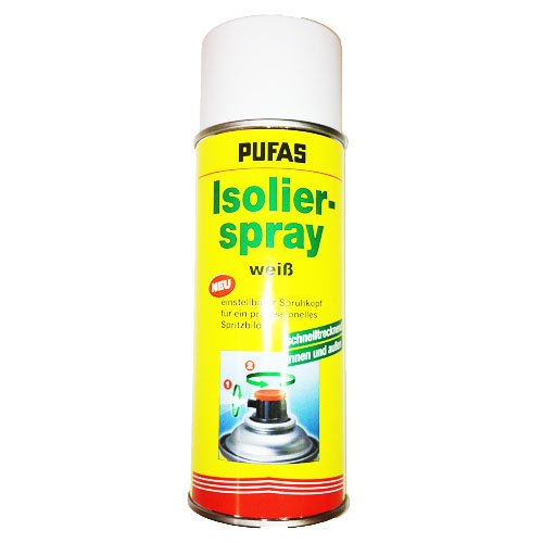 Pufas Isolier-Spray weiß 400ml