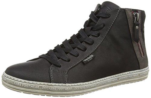 Dockers 32LN213, Sneaker alta donna, Nero (Nero (Nero 100)), 40