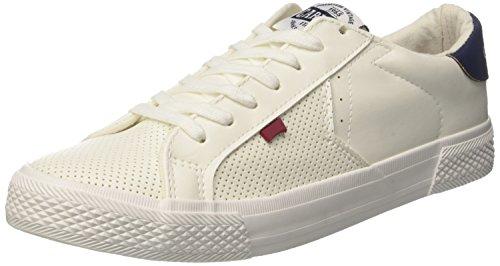 Carrera Herren Platinum LTH Sneaker, Bianco (White/Navy), 43 EU